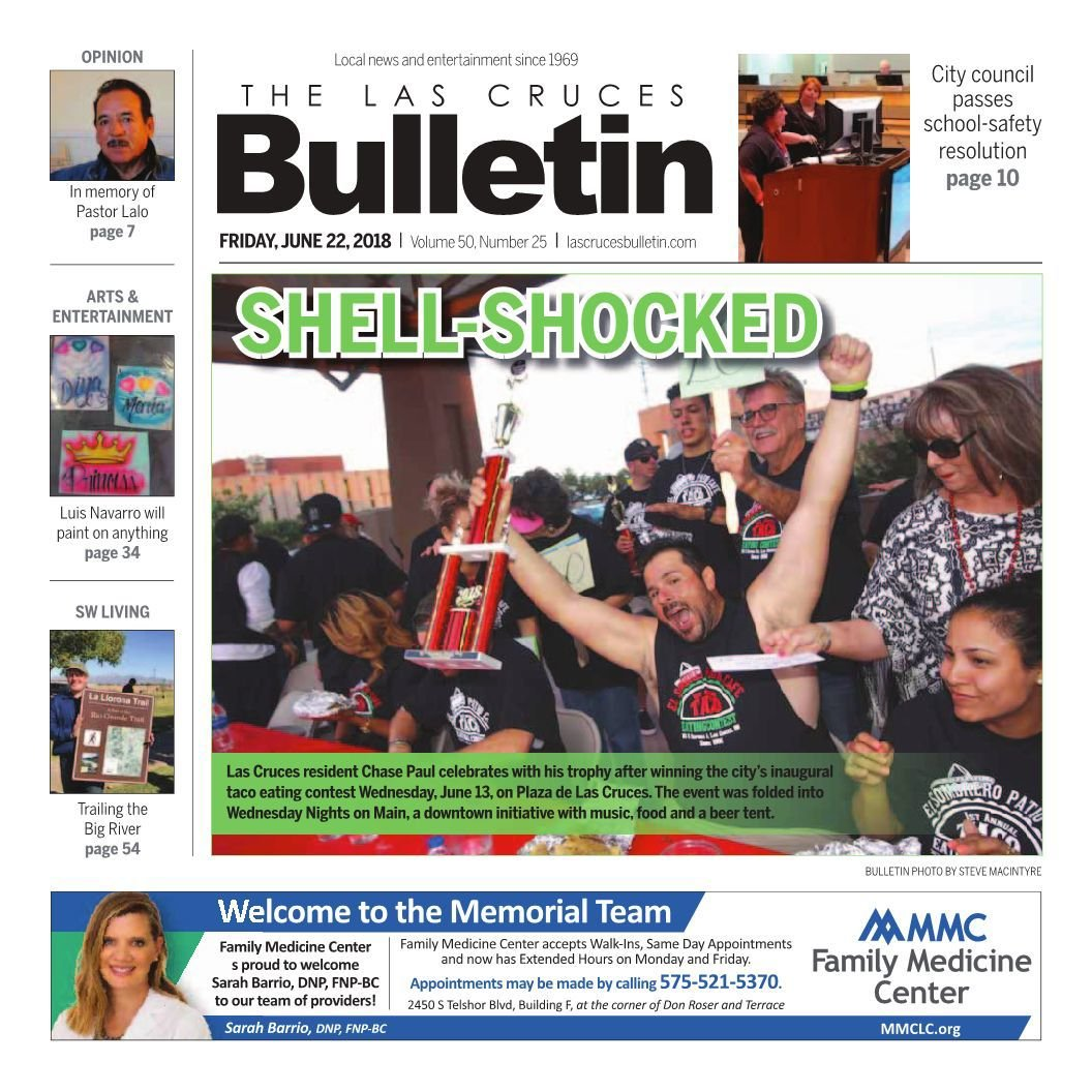 Las Cruces Bulletin 6-25-18