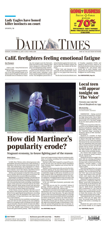 Farmington Daily Times 11-12-18