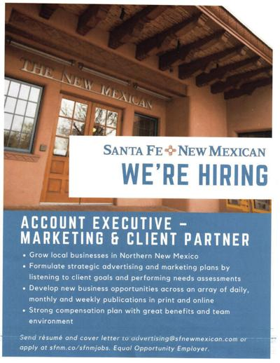 New Mexican seeks Account Executive | Around New Mexico | nmpress.org