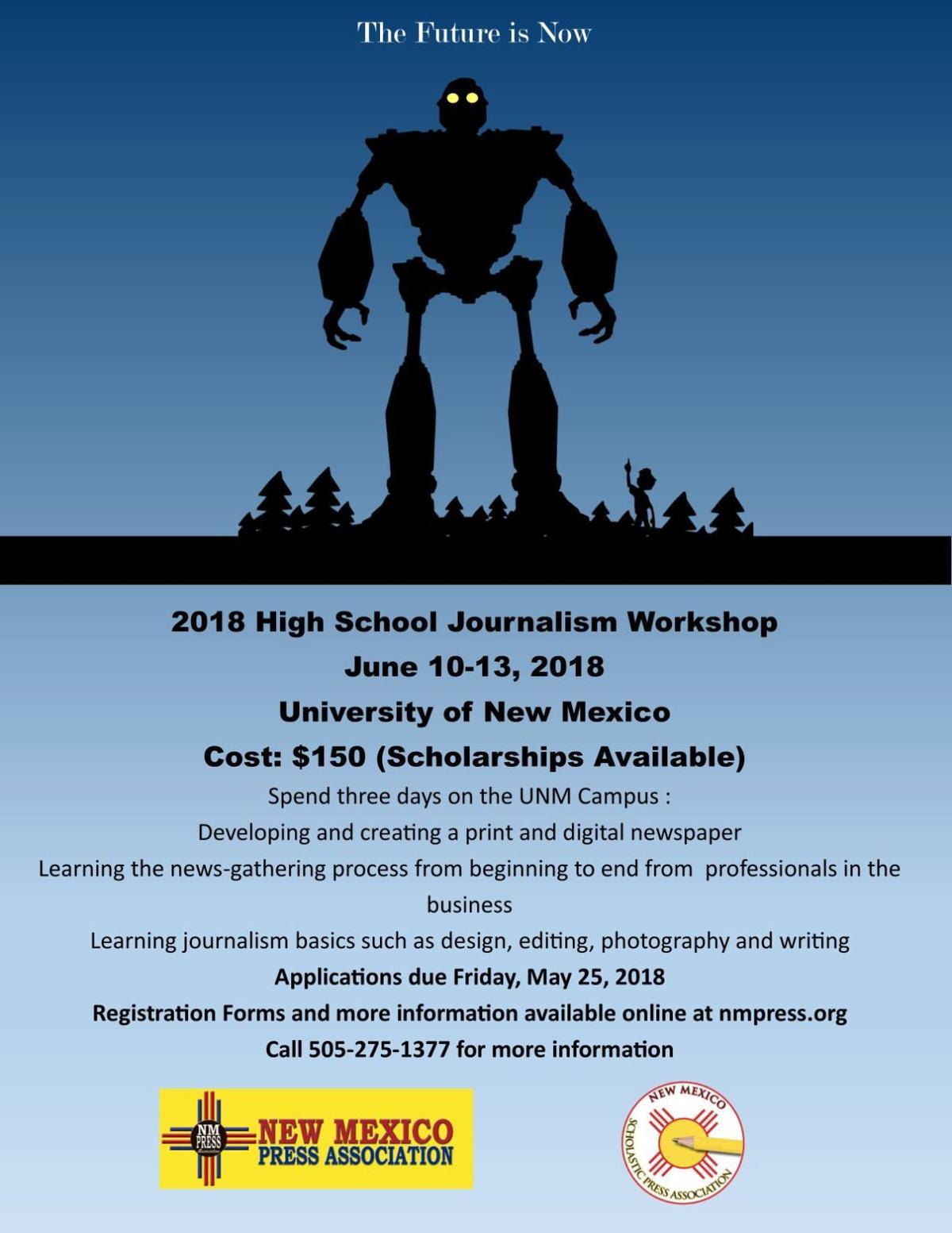 2018 High School Journalism Workshop