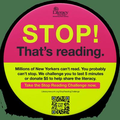 Literacy of NNY takes part in state Stop Reading Challenge