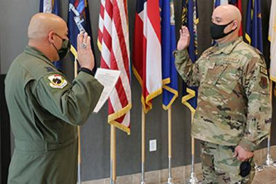 Fulton resident reenlists in New York Air National Guard