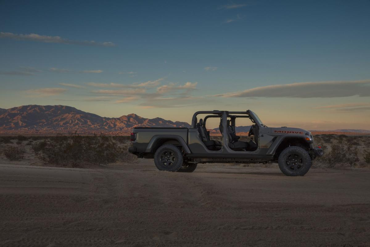 Jeep Gladiator Mojave combines sporty flair & smooth ride