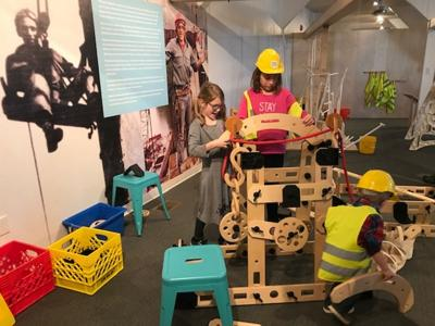 Children's Museum adds to construction exhibit