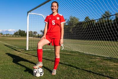 High school girls soccer: Barnes' well-rounded athletic