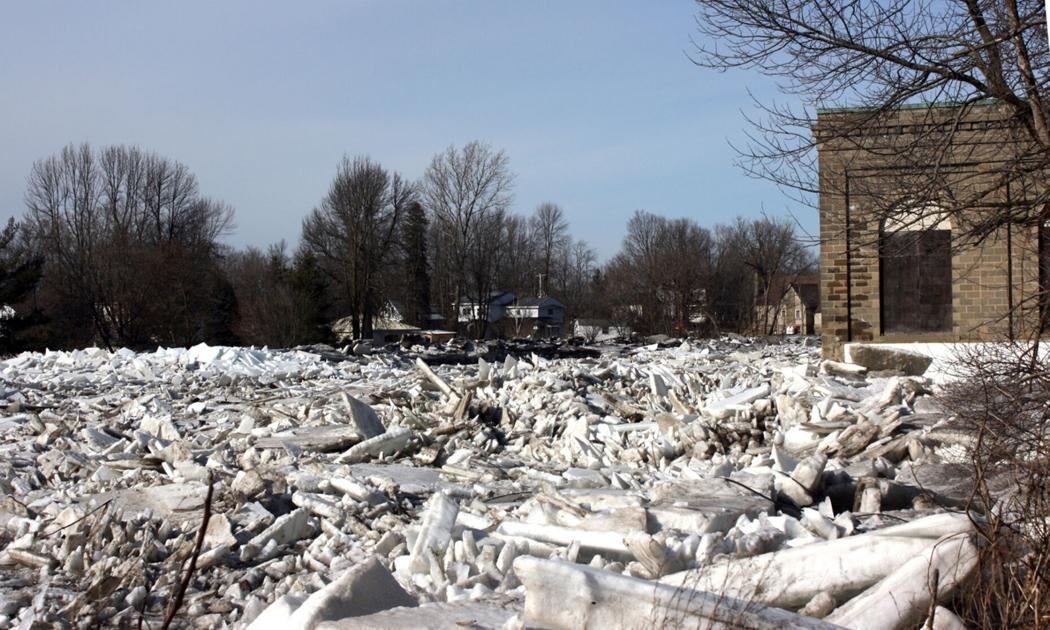 Study finds little effect on ice jam formation on St. Regis River from removal of Hogansburg Dam