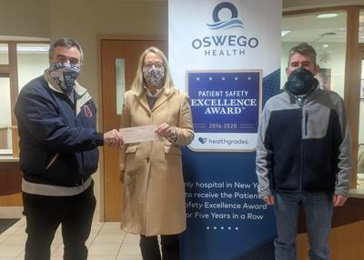 The North Atlantic States Regional Council of Carpenters donate to The Oswego Health Foundation