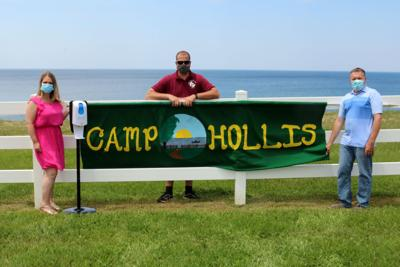 Camp Hollis and OCO Cancer Prevention Program promoting sun safety