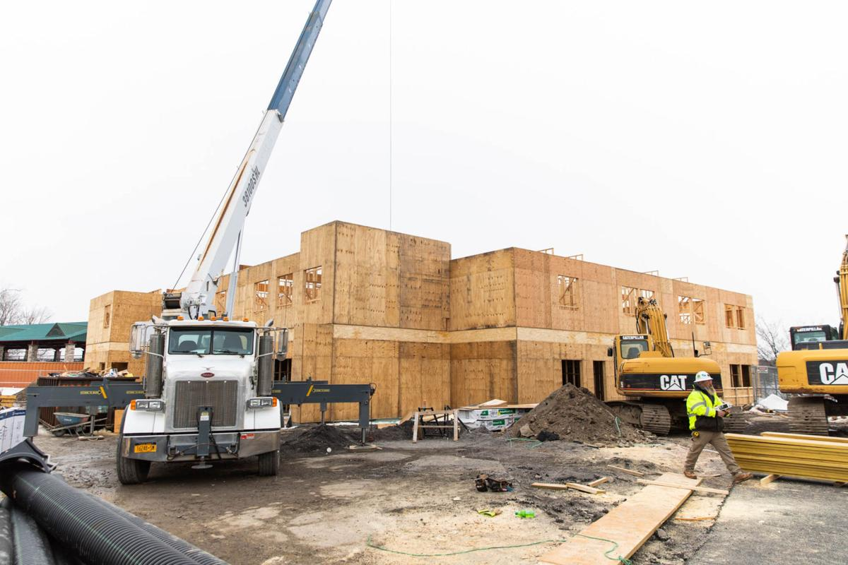 Construction slated to wrap in fall 2020