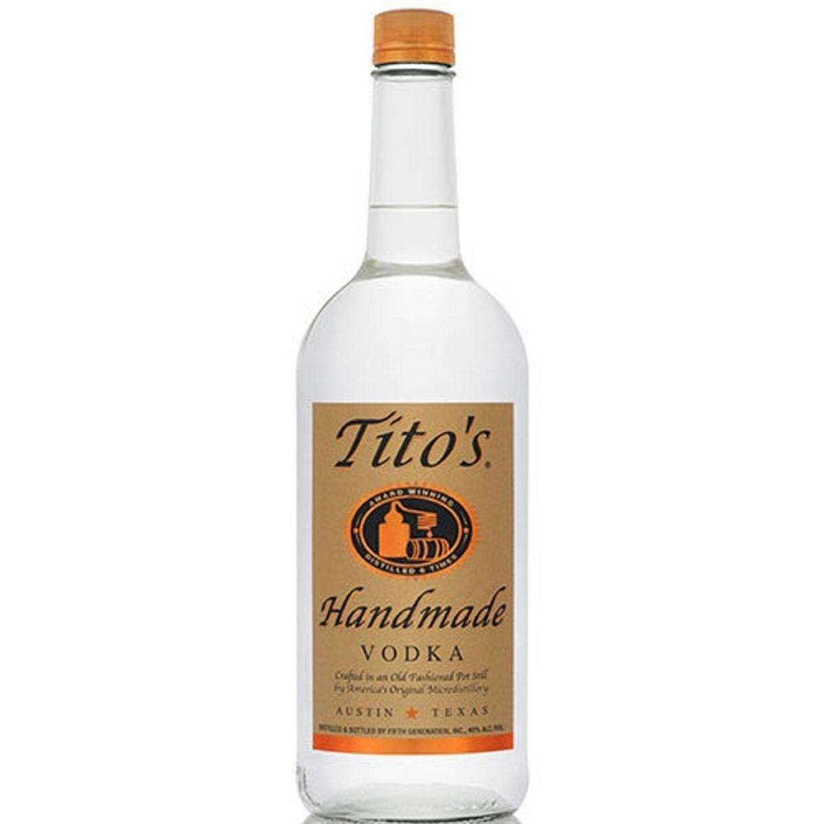 No, you can't use Tito's Vodka to make homemade hand sanitizer