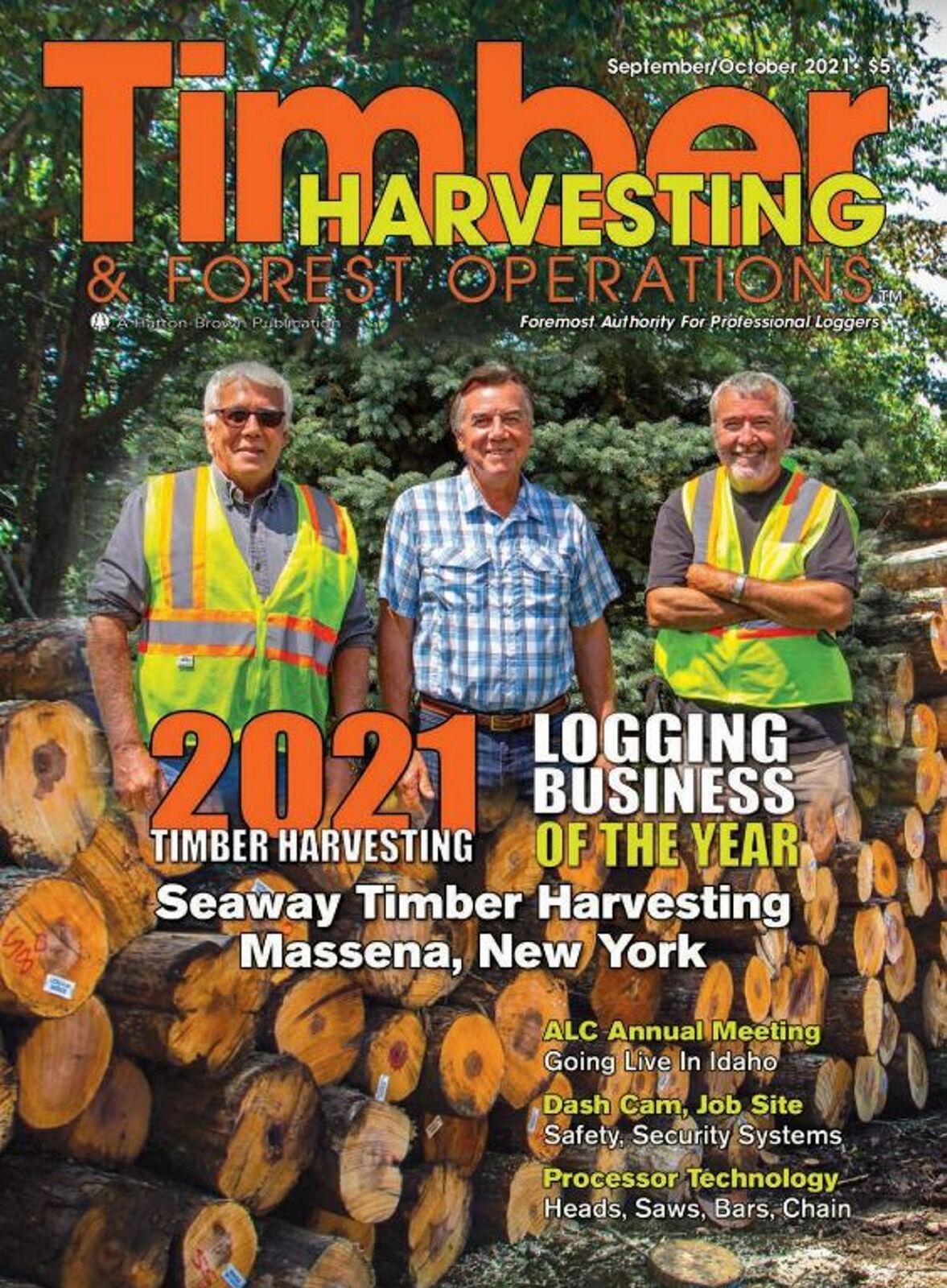 Lumber business logs honors