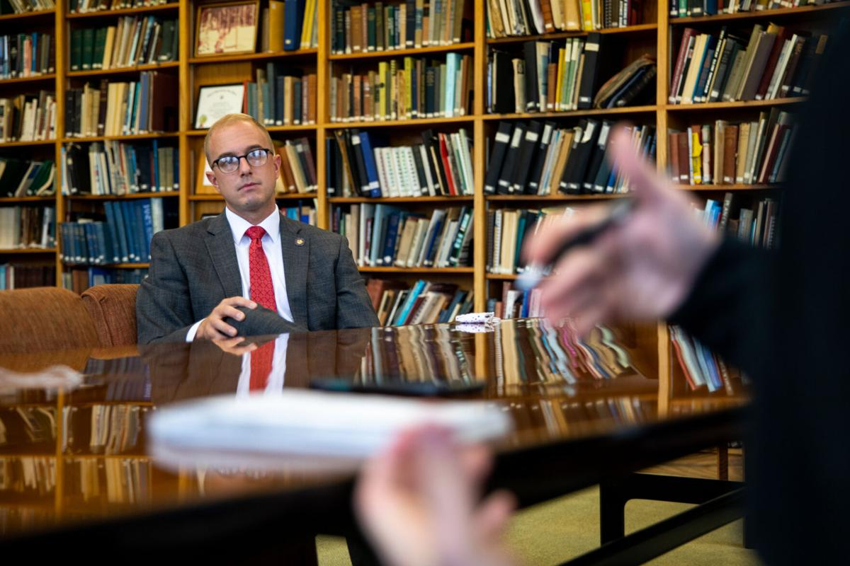 Walczyk seeks balance in state government