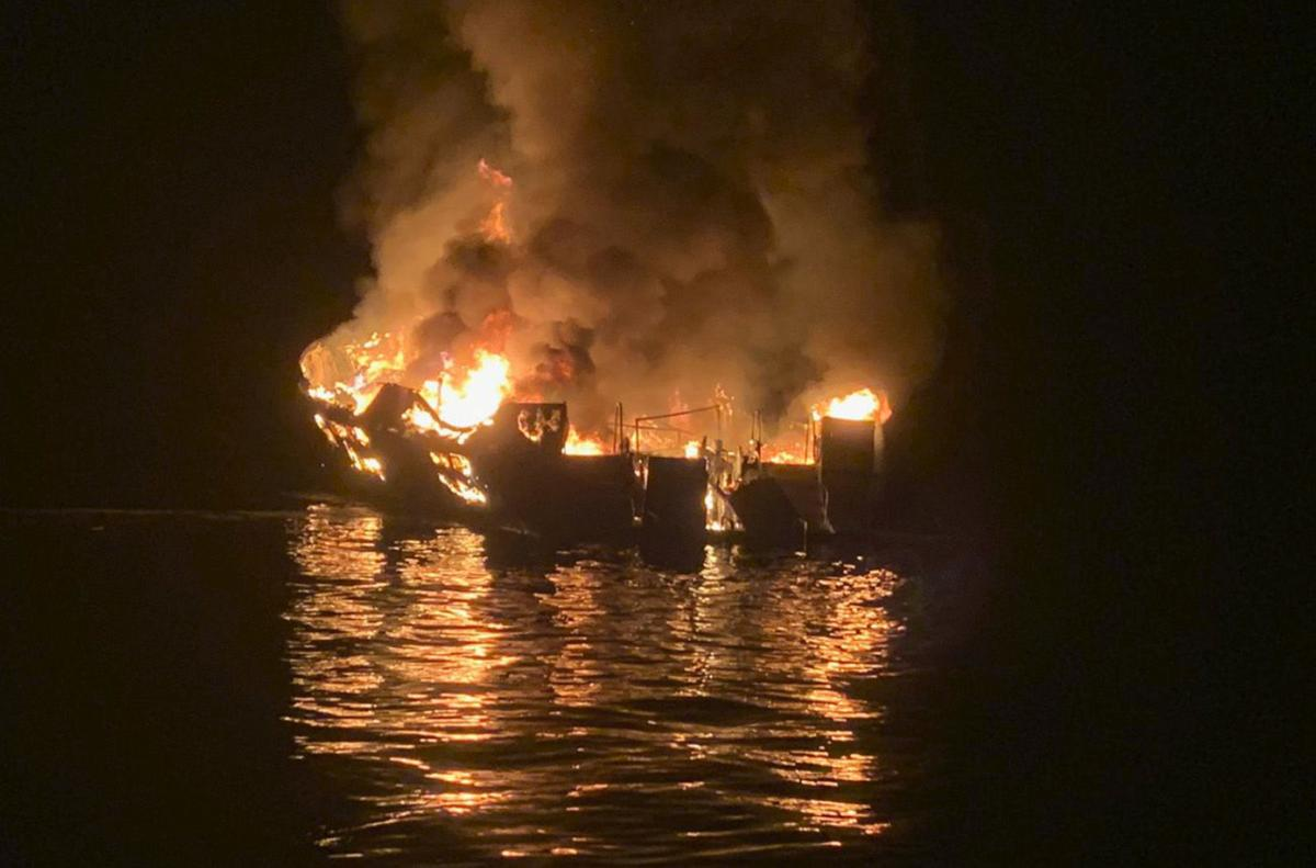 8 confirmed dead in boat fire