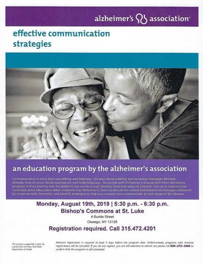 Bishop's Commons hosts Alzheimer's Association Educational Program