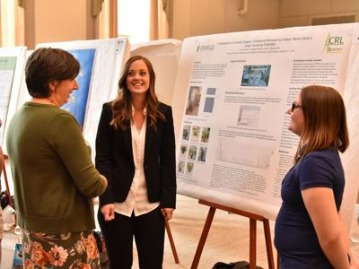 Julia Koeppe receives SUNY Oswego Provost's Award for Mentoring in Scholarly and Creative Activities