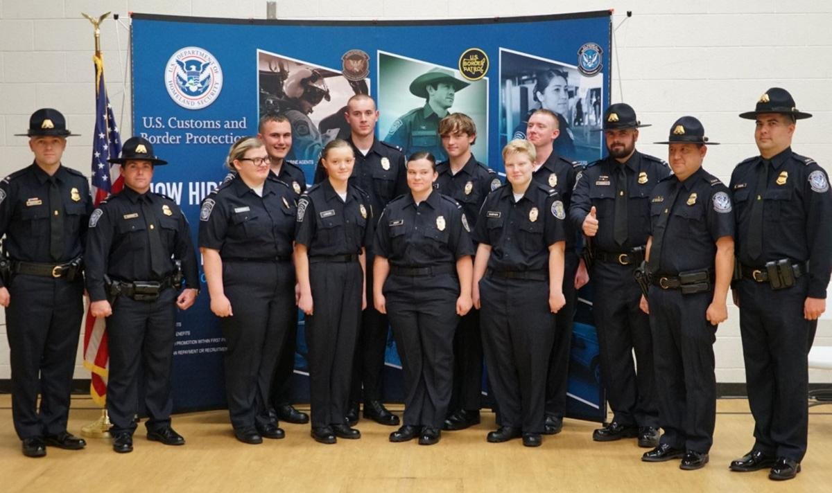 Customs and Border Protection Explorers graduate