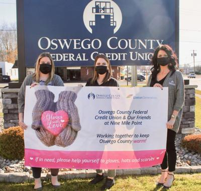 Oswego County FCU, Exelon Generation launch sixth annual 'Gloves With Love'