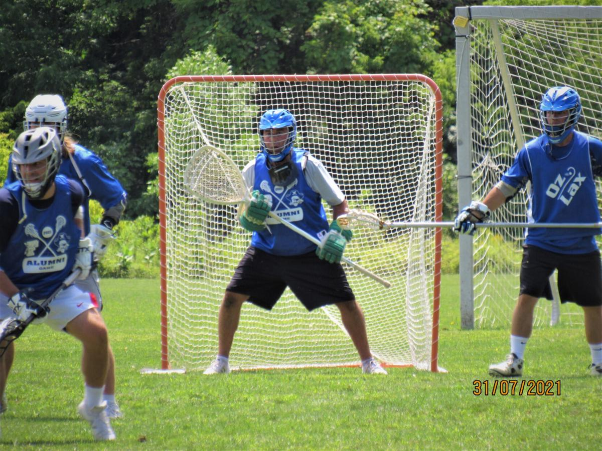 Alumni lacrosse game promotes program-building