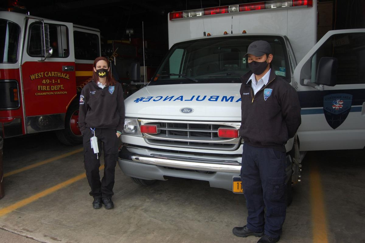 Carthage Rescue to staff Champion station