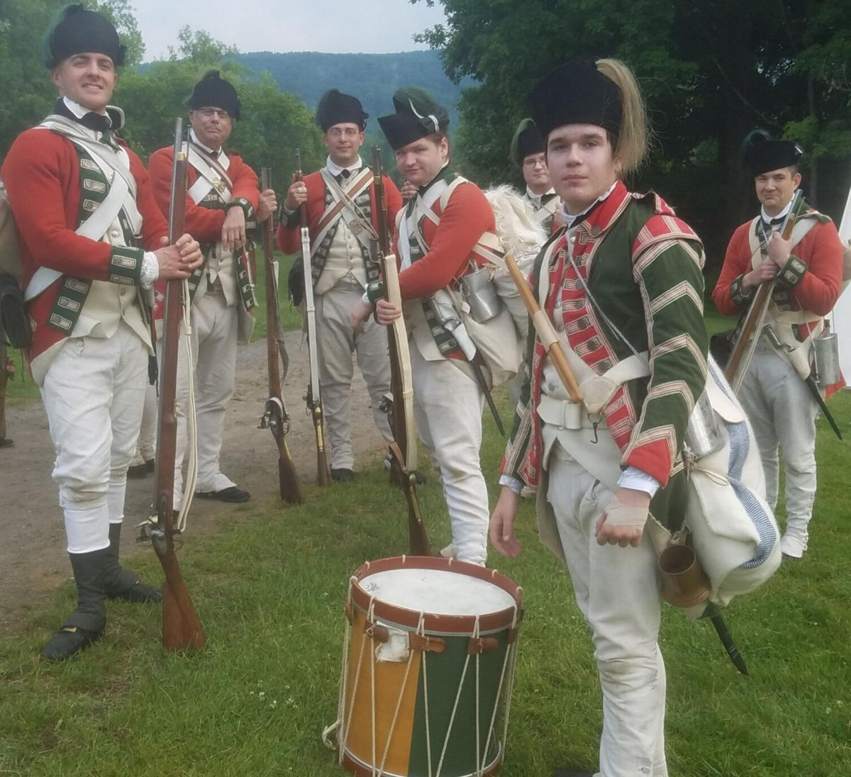 Revolutionary War living history weekend at Fort Ontario, Aug. 14-15
