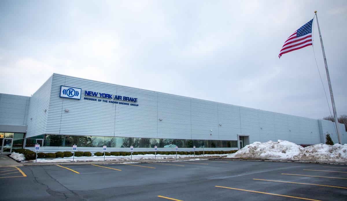 Watertown plant hones rail technology