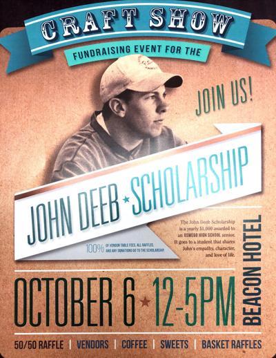 John Deeb Scholarship fundraising event