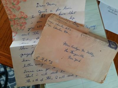 Delivery of veteran's 1955 letter sought