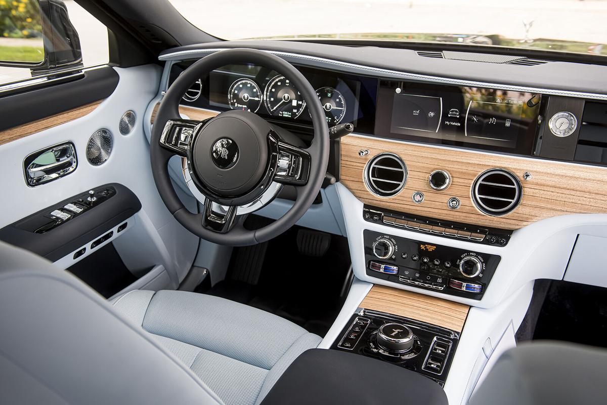 The 2021 Rolls-Royce Ghost: minimalism was never so lavish