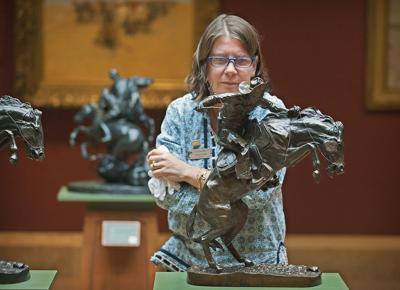 Director leaves museum in excellent condition