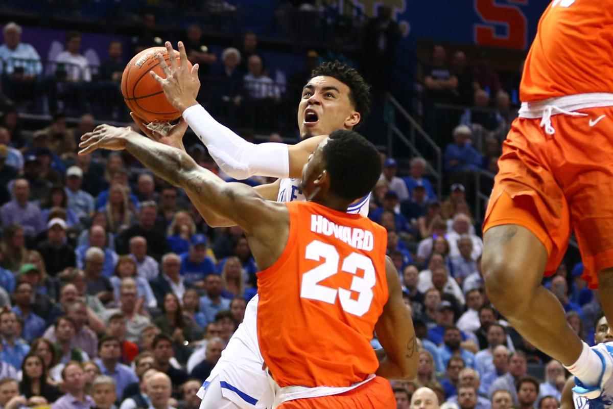 College Basketball Duke S Williamson Dominates In Return
