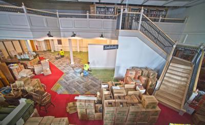 A library's makeover