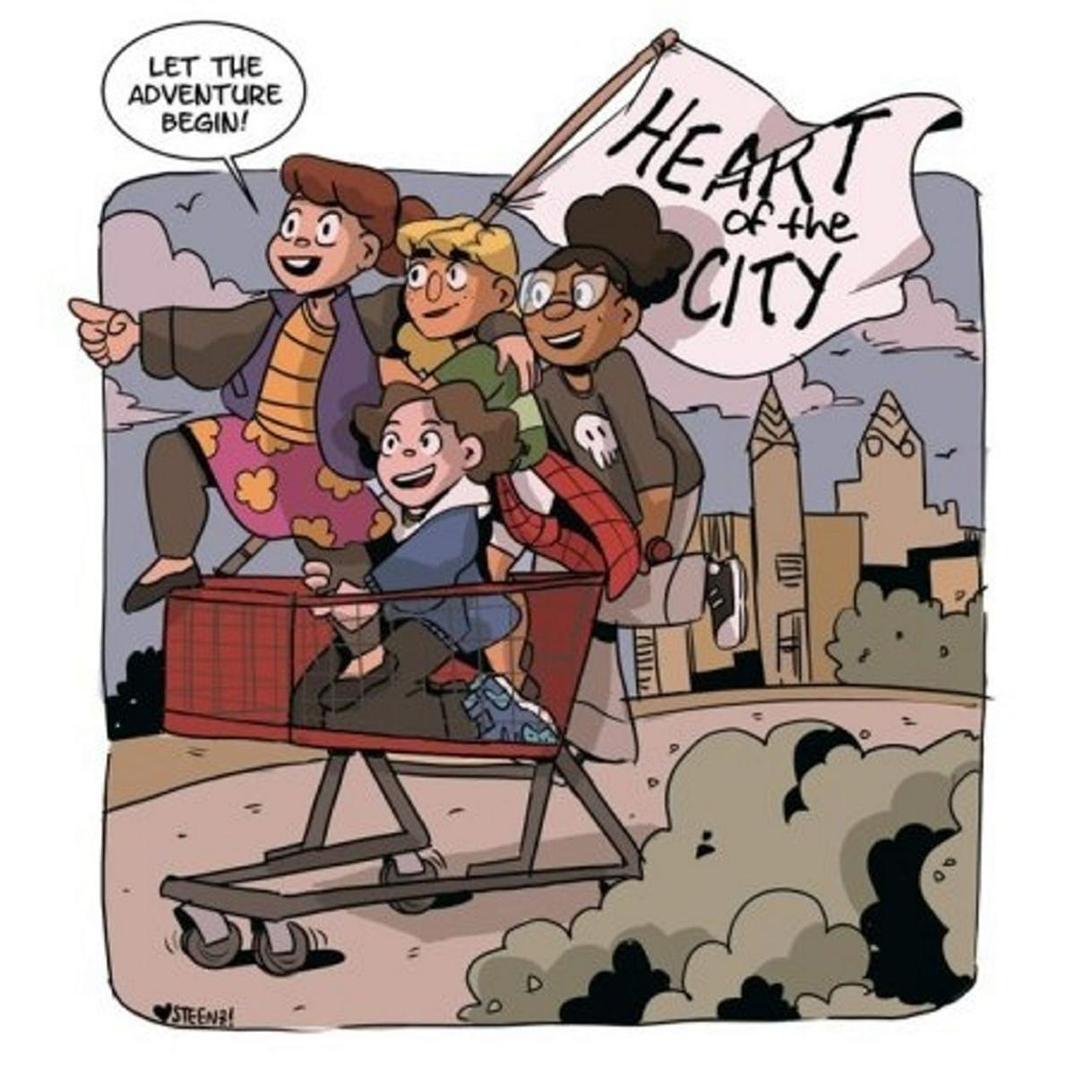 'Heart' strip goes on with new artist