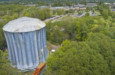 Water tower makeover