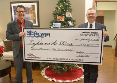 SeaComm helps light up the river