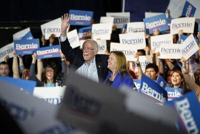The swarming behavior of Sanders' voters