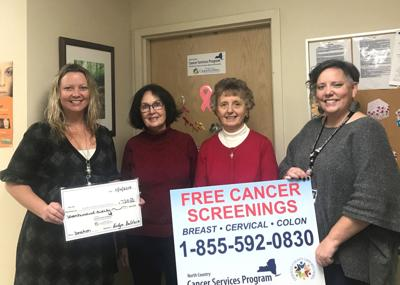 First United Methodist Church donates to the Cancer Services Program