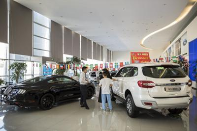 Car sales in China shine as rest of world reels from virus