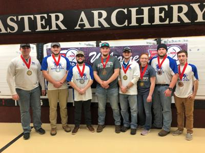 Alfred State College Archery Team brings home eight medals