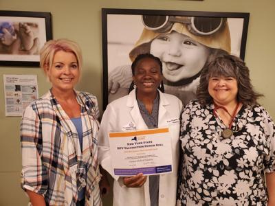 HPV Coalition applauds CHMC Pediatrics team