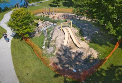 Ives Park Play Area Nears Completion