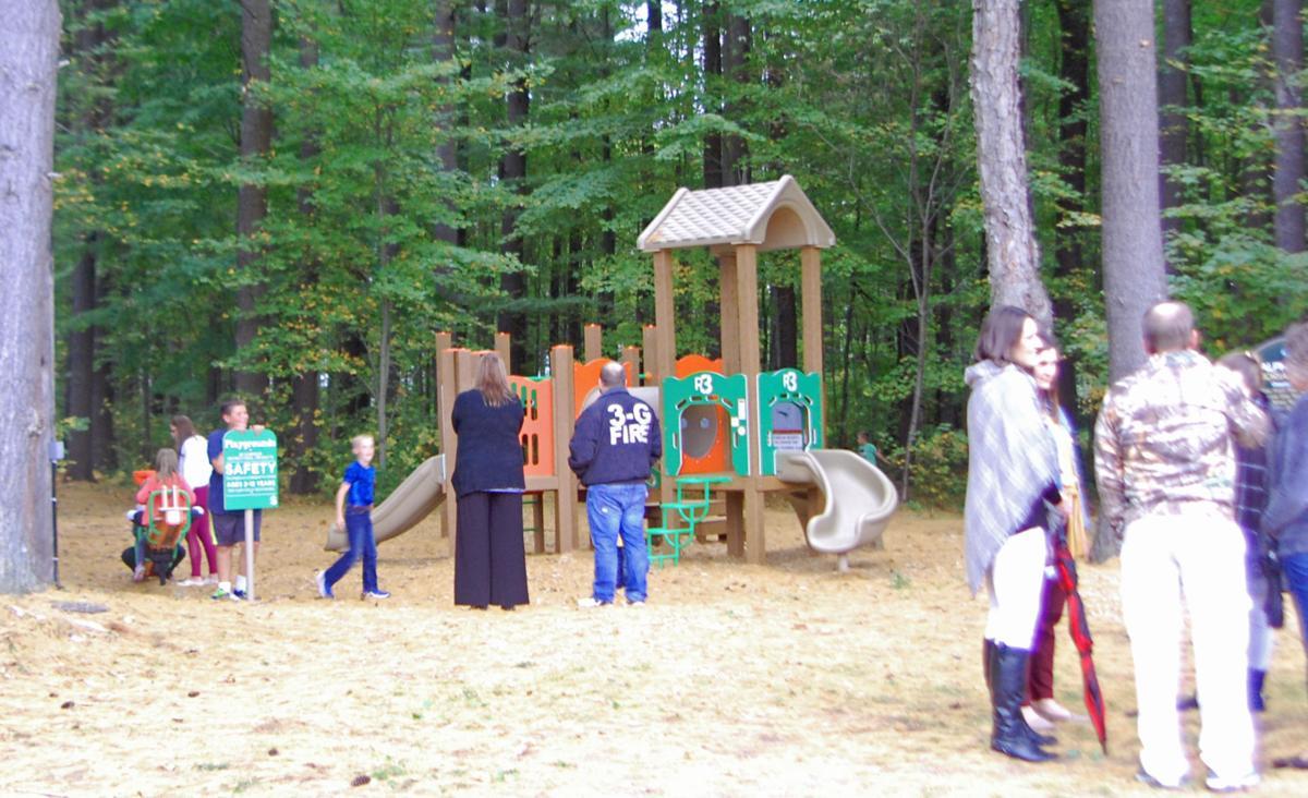 New playground in New Bremen dedicated to beloved 'Bub' Hall