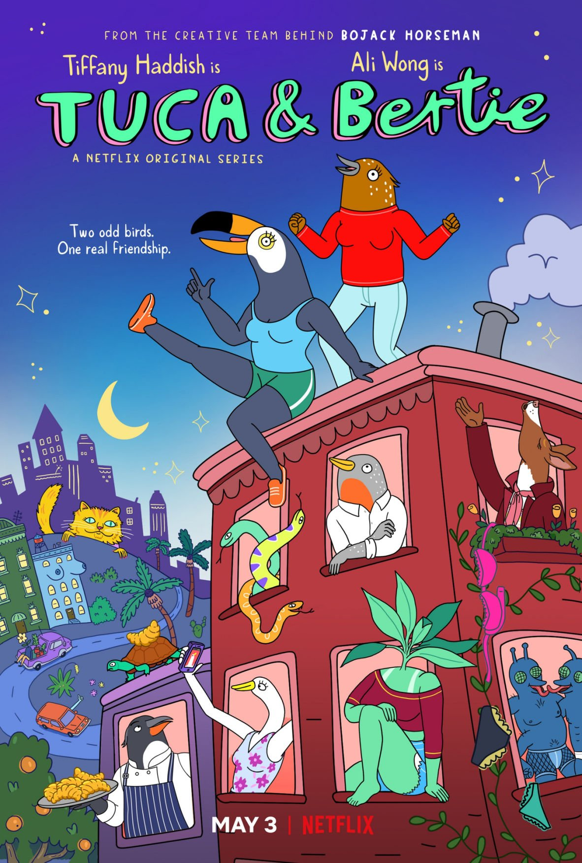 'Tuca & Bertie' will take flight again on Adult Swim