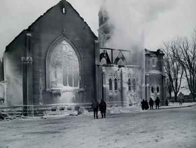 Recalling Watertown's great church fire of 1969