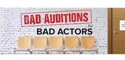 """Auditions announced for the Oswego Players and Theater Arts Youth Academy (TAYA) production of """"Bad Auditions by Bad Actors"""""""