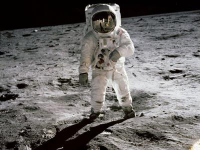 Celebrate moon landing with shows at planetarium; viewing with telescope