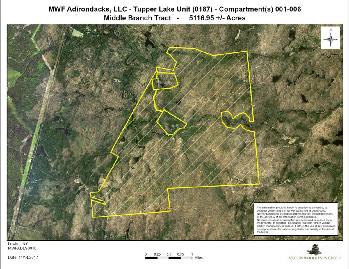 Trails are affected by $2.9M land deal