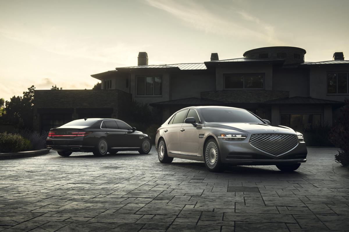 What American automakers once delivered, the Genesis G90 supplies