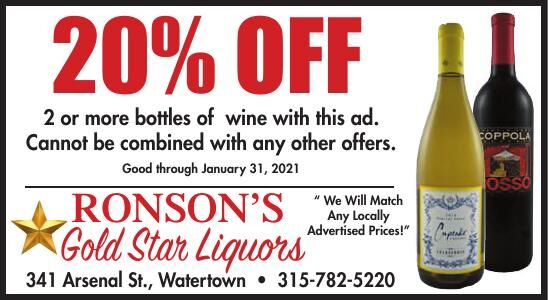 Ronson's Gold Star Liquors
