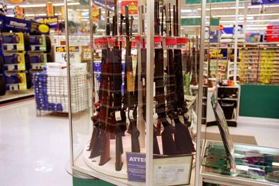 Walmart returns firearms and ammunition to sales floor