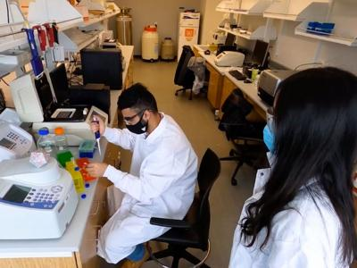 SUNY Oswego researchers studying how to better detect COVID mutations